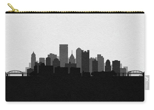 Pittsburgh Cityscape Art V2 Carry-all Pouch