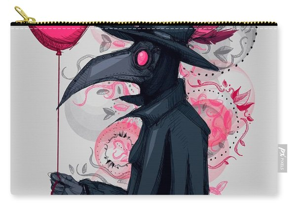 Plague Doctor Balloon Carry-all Pouch