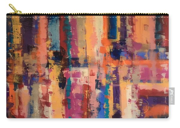 Playful Colors Iv Carry-all Pouch