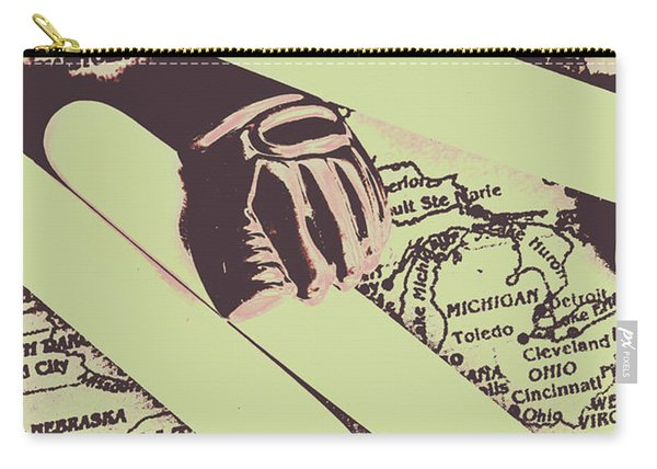 Playing Hardball Carry-all Pouch
