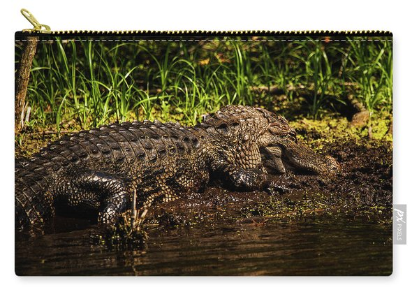 Playing In The Mud Carry-all Pouch