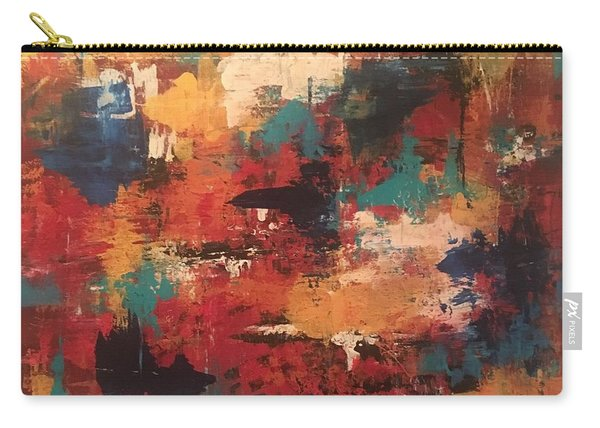Playing With Color Carry-all Pouch
