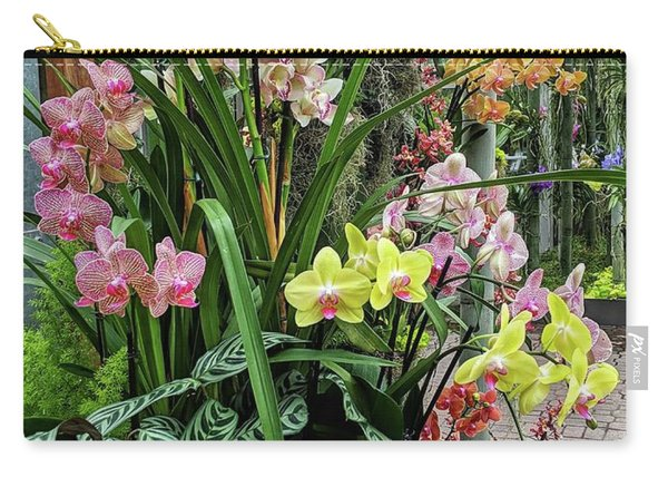 Plentiful Orchids Carry-all Pouch