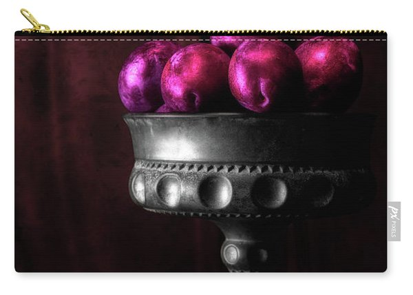 Plums Still Life Carry-all Pouch
