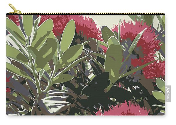 Pohutukawa New Zealand Christmas Tree Carry-all Pouch