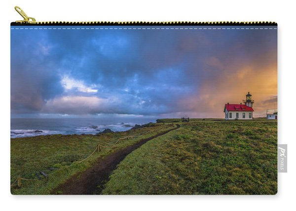 Point Cabrillo Light Station Panorama Carry-all Pouch