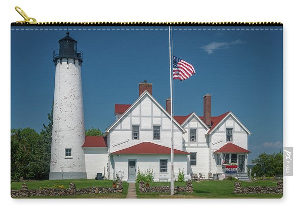 Point Iroquois Lighthouse Carry-all Pouch