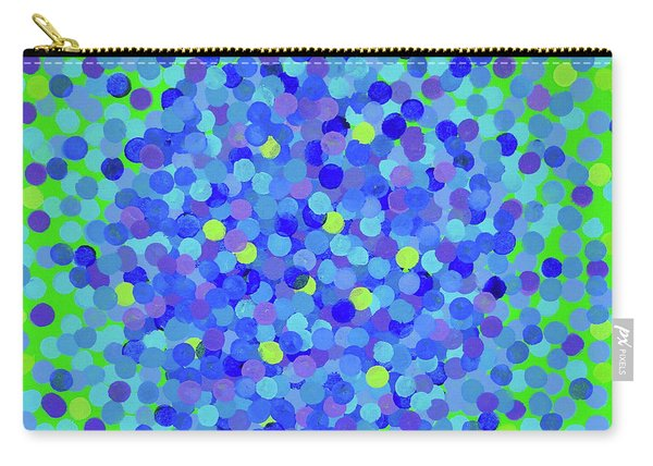 Pointillism 2.0 Hydrangea Carry-all Pouch