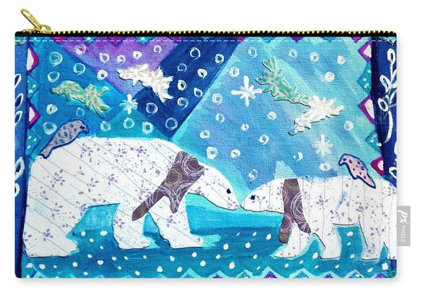 Polar Bears Carry-all Pouch