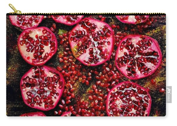 Pomegranate New Year Carry-all Pouch