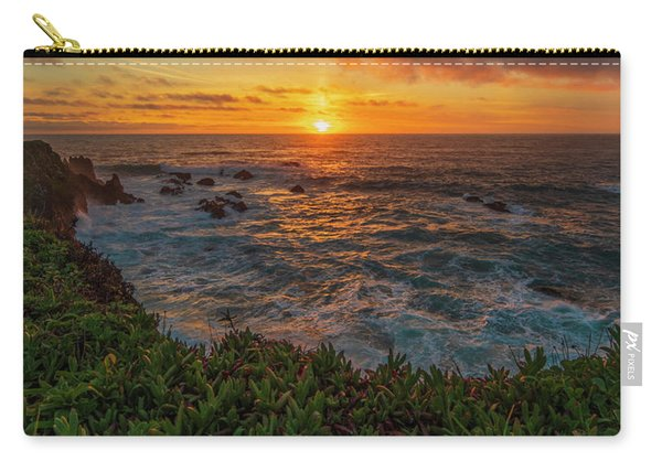 Pomo Bluffs Sunset - 2 Carry-all Pouch