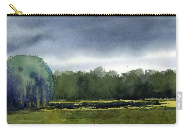 Pond At Taliesin Carry-all Pouch