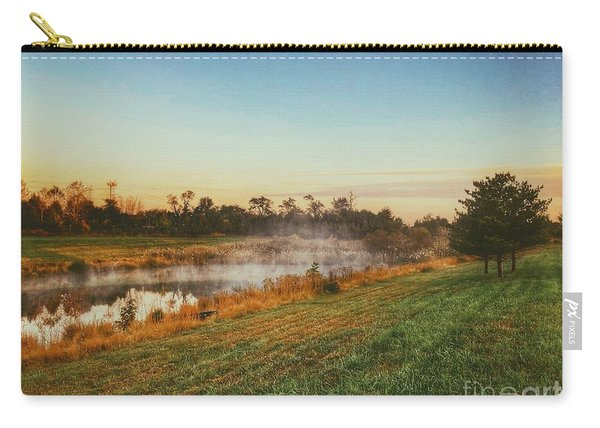 Pond In Fall Carry-all Pouch