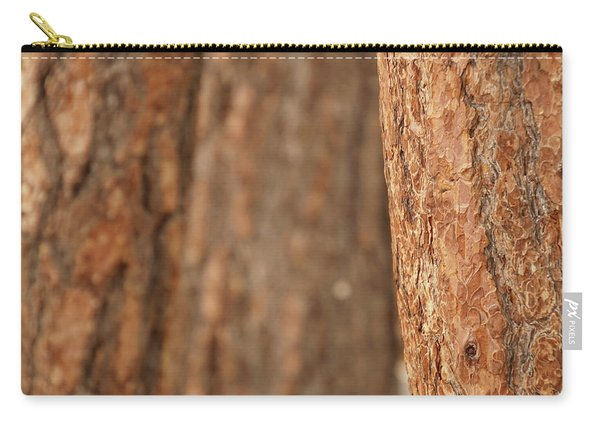 Ponderosa Pine Bark Detail Carry-all Pouch