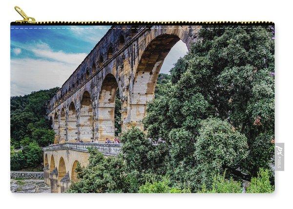 Pont Du Gard Carry-all Pouch