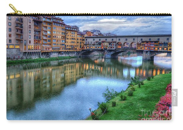 Ponte Vecchio Florence Italy Carry-all Pouch