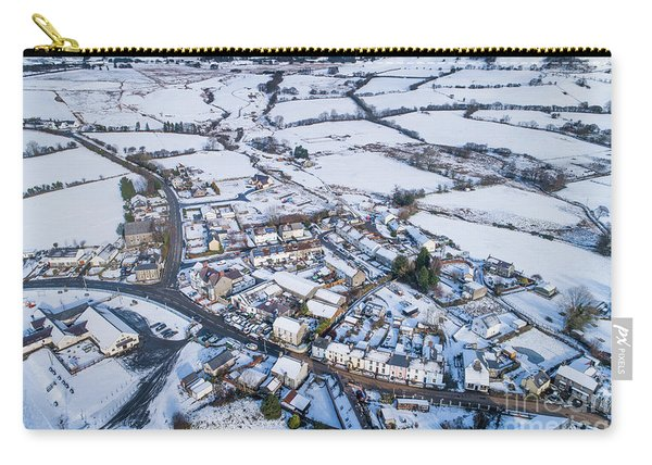 Pontrhydfendigaid Village, Wales, In The Snow Carry-all Pouch