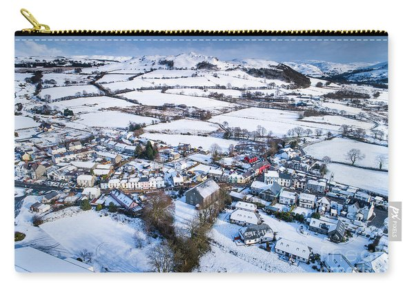 Pontrhydfendigaid Wales In The Snow Carry-all Pouch