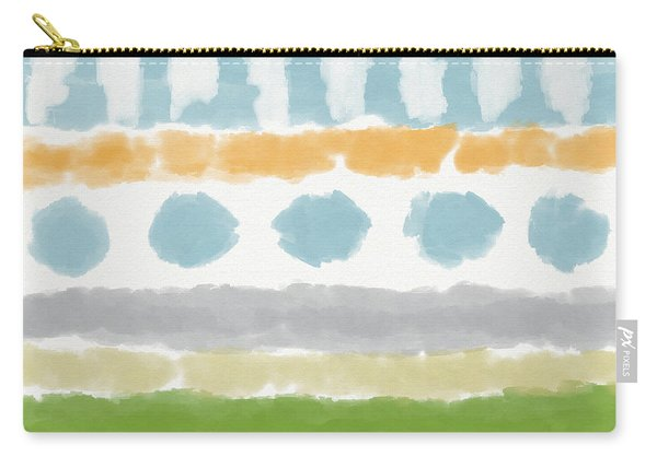 Poolside 3- Art By Linda Woods Carry-all Pouch