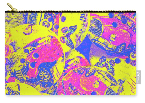 Pop Art Garage  Carry-all Pouch