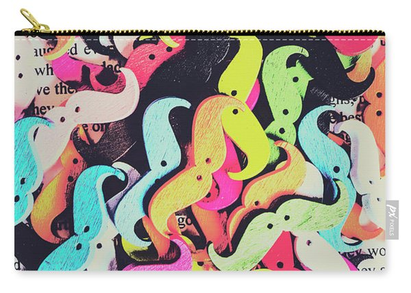 Pop Art Moes Carry-all Pouch