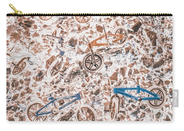 Pop Art Mountain Ride Carry-all Pouch