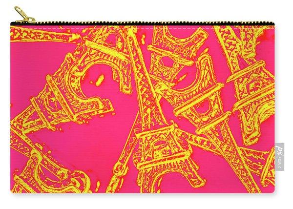 Pop Art Paris Carry-all Pouch
