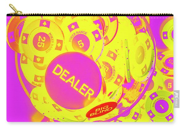 Pop Art Poker Carry-all Pouch
