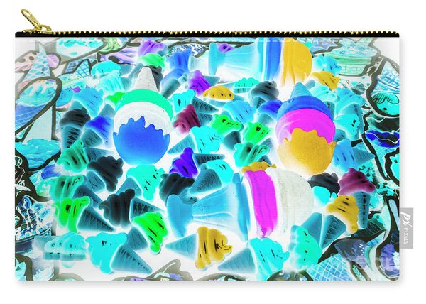 Pop-art-sicles Carry-all Pouch