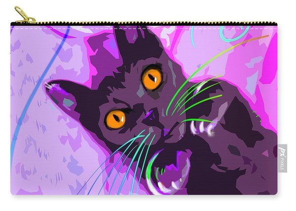 Pop Cat Angel Carry-all Pouch