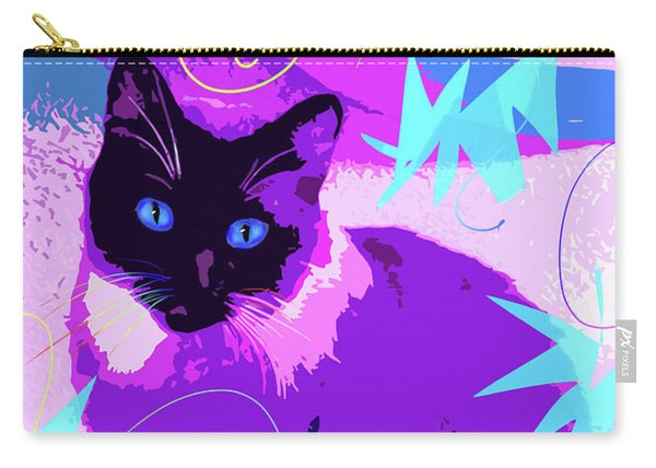 Pop Cat Cocoa Carry-all Pouch
