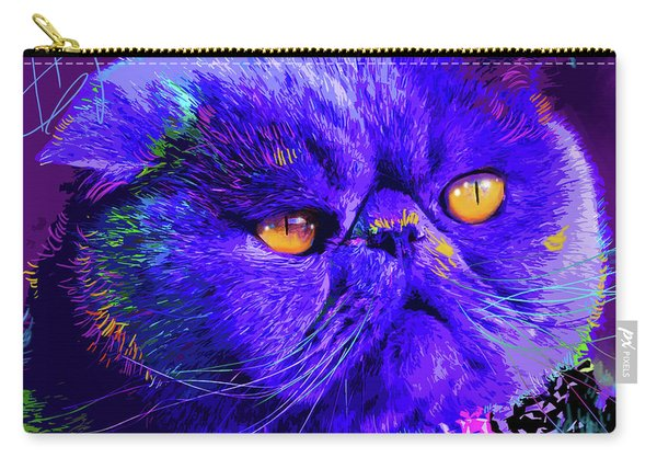 pOpCat Captain Blue Chip Carry-all Pouch