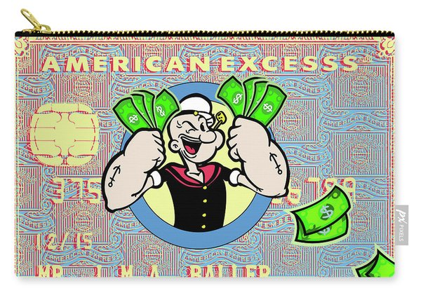 Popeye Is A Baller Carry-all Pouch