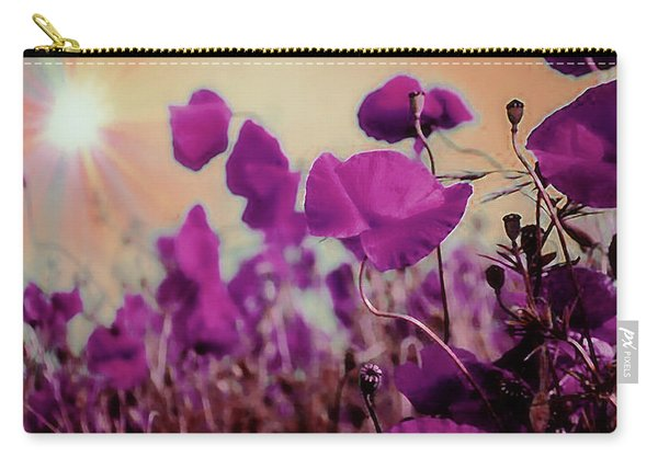 Poppies In Sunlight Carry-all Pouch