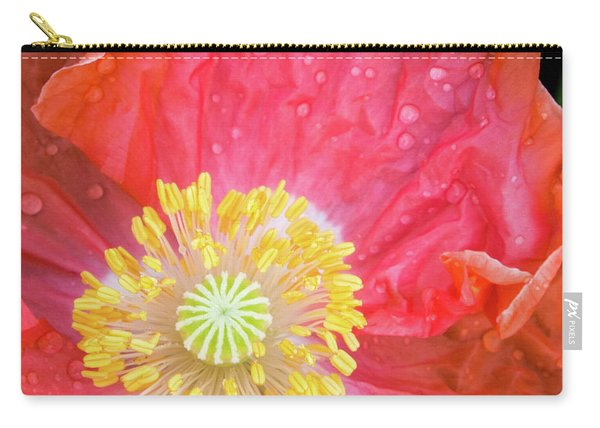 Poppy Closeup Carry-all Pouch