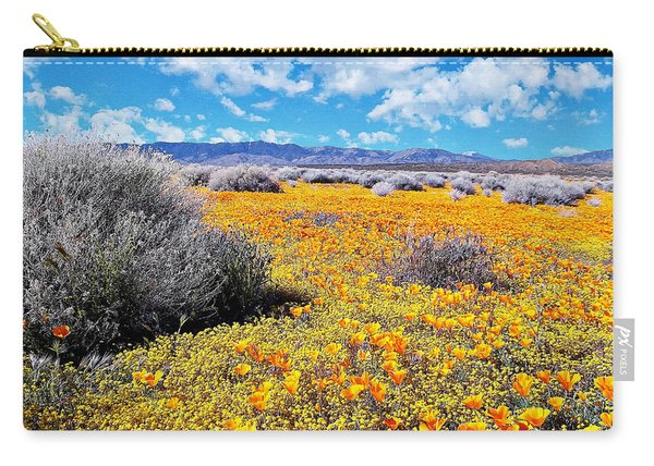 Poppy Patch - California Carry-all Pouch