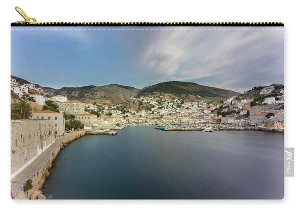 Port At Hydra Island Carry-all Pouch
