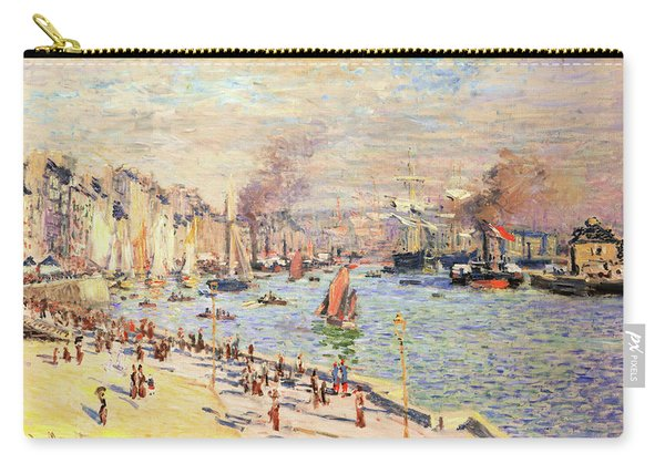Port Of Le Havre - Digital Remastered Edition Carry-all Pouch