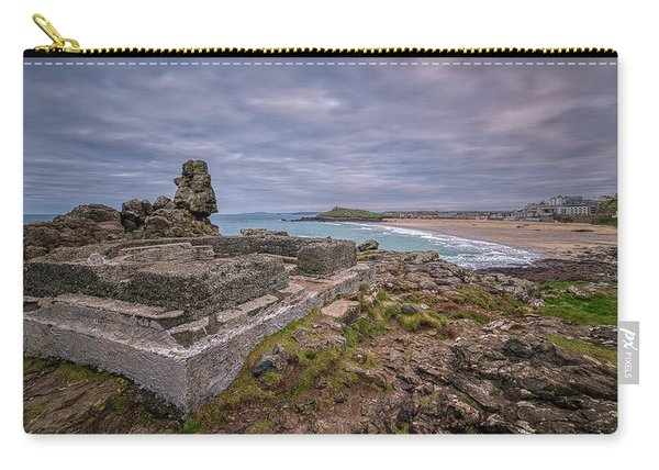 Porthmeor Beach January View Carry-all Pouch