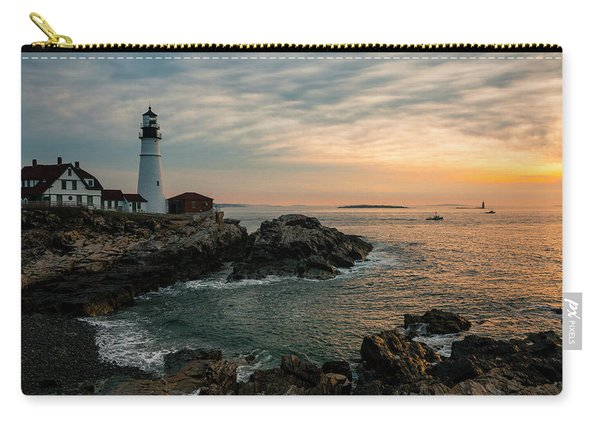 Portland Head Sunrise Final Carry-all Pouch