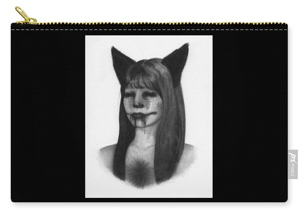 Portrait Of A Kumiho - Artwork Carry-all Pouch