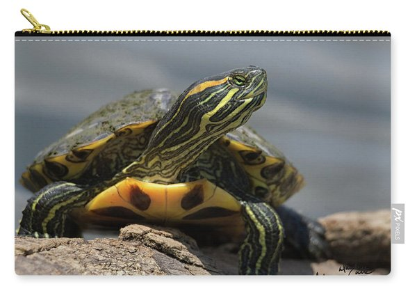 Portrait Of A Turtle Carry-all Pouch