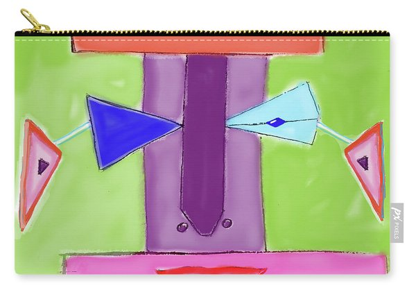 Portrait Of Mom Carry-all Pouch