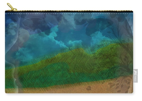 Portrait Of Time Carry-all Pouch
