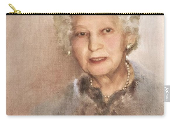 Portrait Of Victoria Carry-all Pouch