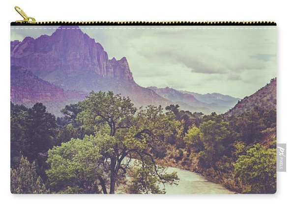 Postcard Image Carry-all Pouch