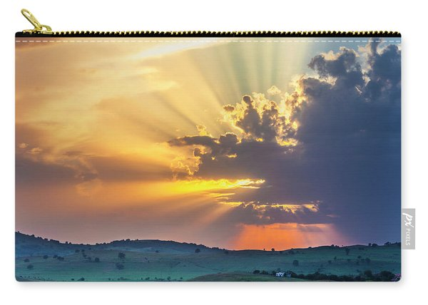 Powerful Sunbeams Carry-all Pouch