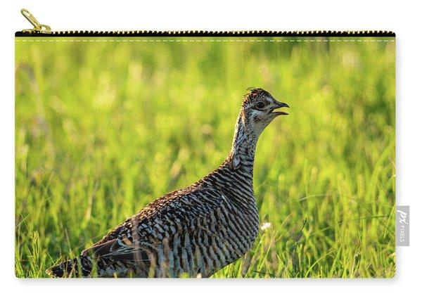Prairie Chicken Hen Carry-all Pouch