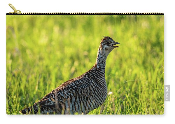 Prairie Chicken Hen Carry-all Pouch