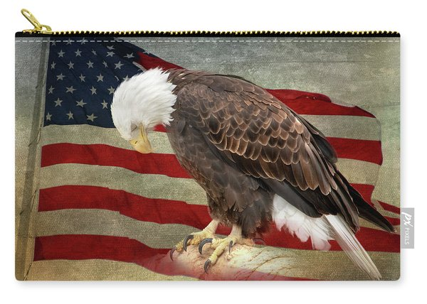 Pray For America Carry-all Pouch